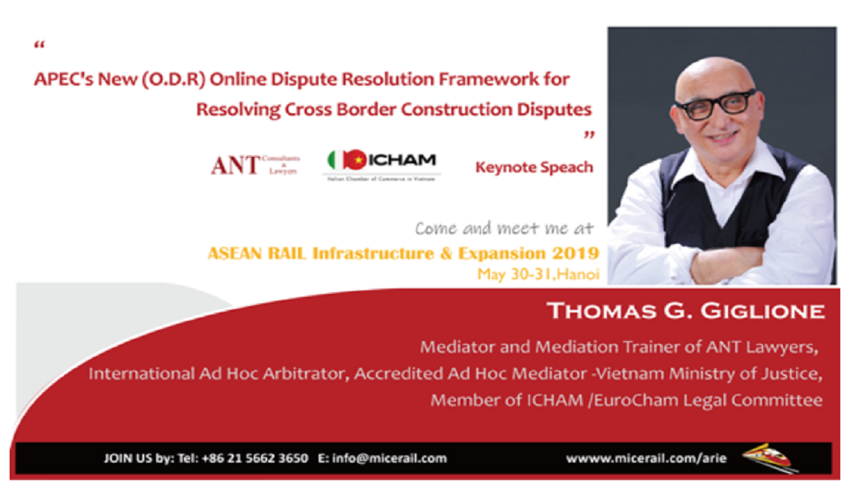 ANT Lawyers Participating in ASEAN Rail Infrastructure